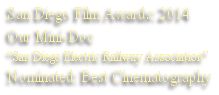 San Diego Film Awards: 2014